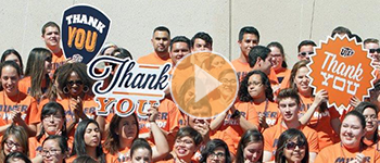 UTEP Student Thank You 2015